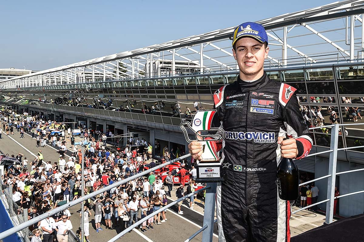 Drugovich (RP Motorsport) wins the EuroFormula Open championship title at Monza