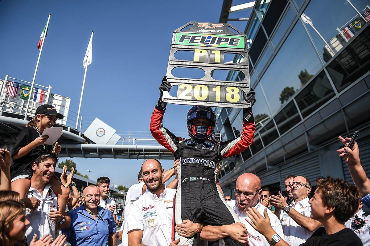 Felipe Drugovich seals Euroformula Open crown in crazy Monza race