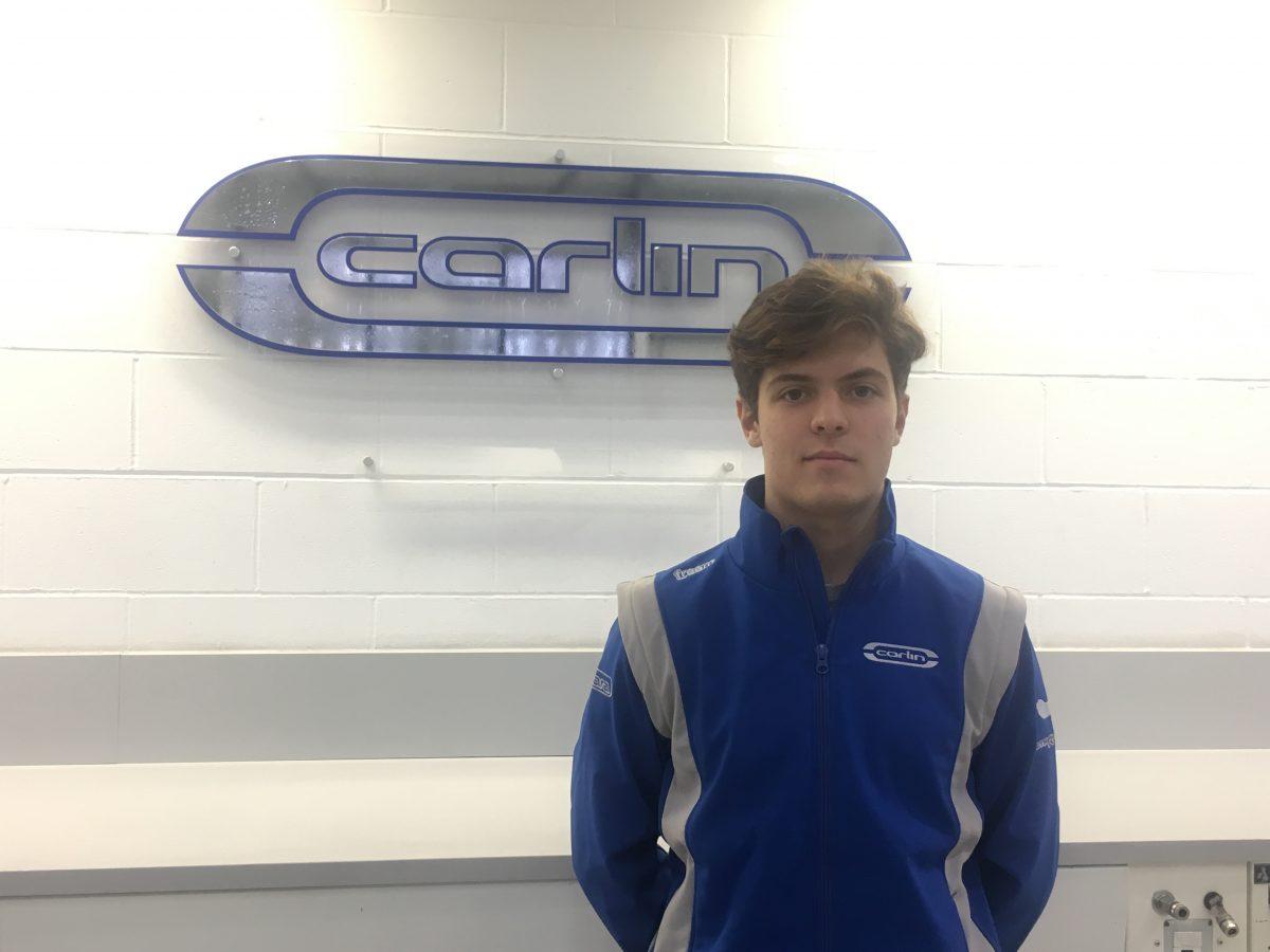 Felipe Drugovich disputará o campeonato FIA Fórmula 3 com a equipe Carlin Buzz Racing