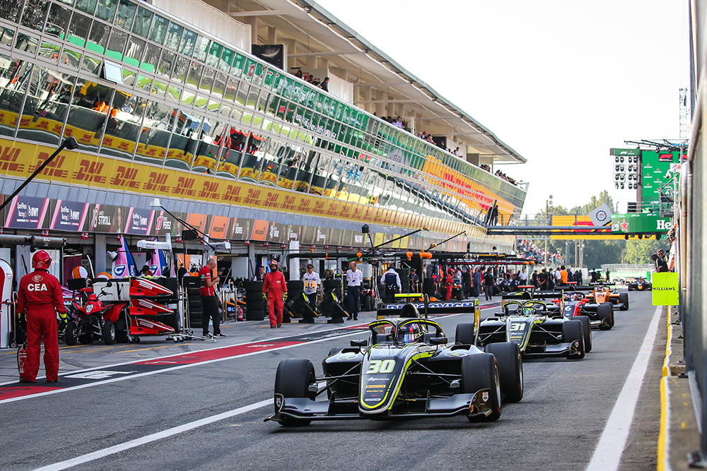 Felipe Drugovich marca participação na 7ª etapa da Fórmula 3 FIA com mais de 20 ultrapassagens em Monza