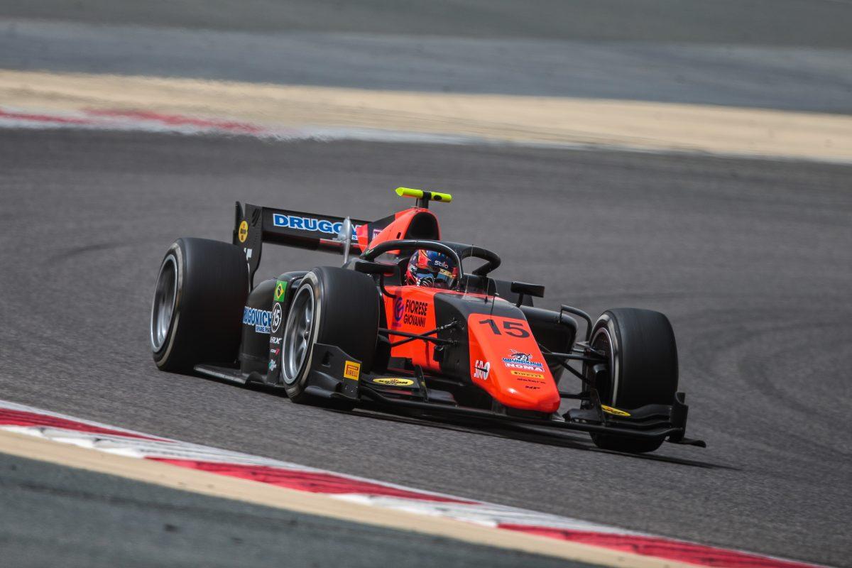 Segundo colocado no último treino, Felipe Drugovich encerrou a primeira série de testes coletivos da Fórmula 2
